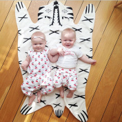 Kids Crawling Mat Baby Play Crawl Mat Baby Blanket Floor Swaddle Blankets Wrap Trow for Kids
