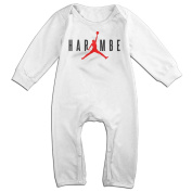 Kid Bodysuit Outfits HARAM-BE VINTAGE Cute Long Sleeve Outfits Suit