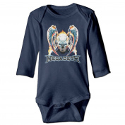Funny Megadeth United Abomin Ations Baby Onesie Newborn Outfits