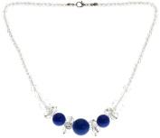 Lova Jewellery Electricity on a Transparent Necklace.