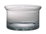 Majestic Gifts European Handmade Thick Flair Salad Bowl, Large, Clear