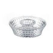 Fifth Avenue Crystal Annabelle Chip and Dip Set, Clear