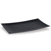 Lillian Tablesettings Serving Tray, 23cm by 33cm , Black