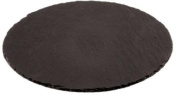 Aps Paderno World Cuisine 33cm Round Natural Slate Tray