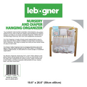 Nursery And Nappy Hanging Organiser By Lebogner