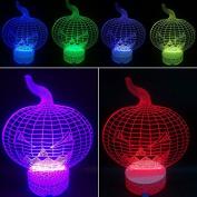 3D Night Lamp Pumpkin
