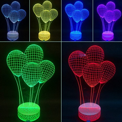 3D Night Lamp Balloon