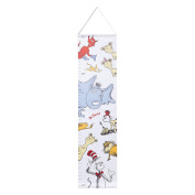 Trend Lab Dr. Seuss Friends Canvas Growth Chart, Blue/Red/Yellow/Grey/White