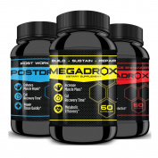 MEGADROX, TESTADROX & POSTDROX Combo - EXPLOSIVE Workouts! Build, Sustain, Repair and Perform at the MAX with MAX Results! Experience the difference!