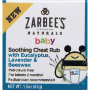 Zarbee's Naturals Baby Soothing Chest Rub with Eucalyptus, Lavender & Beeswax, 45ml