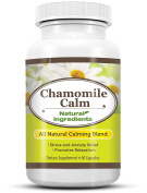 Chamomile Calm - RELAX your day away - Reduce your Stress and Improve your Mood with Chamomile Calm