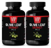 Olive leaf alcohol free - OLIVE LEAF EXTRACT - Natural sleep aid - 2 Bottles 120 Capsules