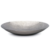 Torre & Tagus 901513A Talis Hammered Round Platter, 43cm , Silver