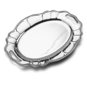 Wilton Armetale Stafford Serving Tray with Handles, 46cm -by-33cm
