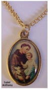 St. Anthony Medal Necklace