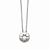 Jewellery Best Seller Stainless Steel Polished Flower Necklace