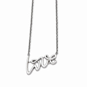 Top 10 Jewellery Gift Stainless Steel Polished Love Necklace