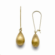 Jewellery Best Seller Stainless Steel Polished/Brushed Yellow IP-plated Earrings