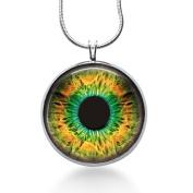 Cats Eye Necklace- Third Eye Necklace-evil Eye -Owl Eye Pendant,fashion Jewellery