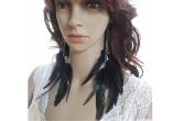Feather Earrings for Women Long Feather Earrings for Women 49a1-11