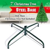 Steel Base Metal Stand for 5/6/7/2.3m Christmas Tree Green Christmas Decor