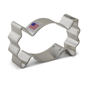 Halloween Wrapped Candy / Gum Cookie Cutter - 9.1cm - Ann Clark - US Tin Plated Steel