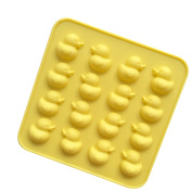Always Your Chef 16-Cavity Silicone Yellow Duck Chocolate Candy Making Moulds Jello Gummy Handmade Soap Mould
