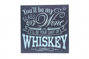 You Will Be My Glass Of Wine Chalk Sign By meijiafei