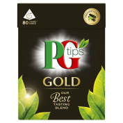 PG Tips Gold 80S Pyramid Teabags 232 G
