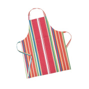 LinenTablecloth Sunset-Striped Chef Apron