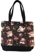 "The Nightmare Before Christmas Tattoo Print ""Sally Loves Jack"" Tote Bag"