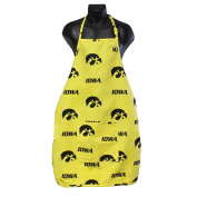 College Covers Iowa Hawkeyes Apron with Pocket