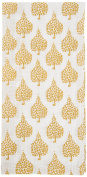 rockflowerpaper Crete Cotton Kitchen Towels, Tan, Set of 6
