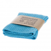 Iris Hantverk Knitted Linen and Cotton Dish Cloth, Aqua