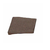 Home Collection by Raghu Newbury Gingham Black Towel, 46cm by 70cm Set of 6