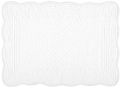 Kaf Home Boutis Placemat, White