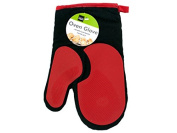 Kole OF422 Heat Resistant Oven Glove with Silicone Grip, Regular