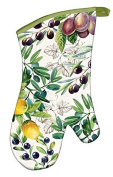 Michel Design Works AOM277 Tuscan Grove Padded Cotton Oven Mitt, Multicolor