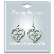 Cathedral Art JE104 April Crystal Birthstone Earrings