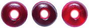 Shipwreck Beads Horn Saucer Beads, 6mm, Red 300-Pack