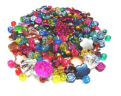 Linpeng Acrylic Beads 60ml Bag, 4x17.5mm, Assorted Colour