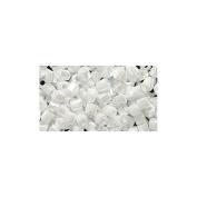 Shipwreck Beads 8/0 (8c-528) Miyuki Seed Hex Cut Bead, White Pearl Ceylon