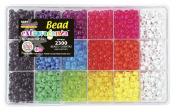 The Beadery 6499 Neon Brights Bead Boc,Multi