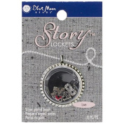 Blue Moon Beads Story Lockets Metal Charm, Love, Assortment, 5-Pack