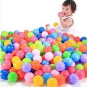 Efbock Baby Kid Toy Swim Pit Toy Colourful Ball Plastic Ocean Balls