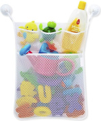 iLoveCos Organisers for Bathroom Baby Bath Toy Holder Storage Net With 4 Removable Suction Cups