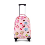 Penny Scallan Chirpy Bird 4 Wheel Spinner Trolley Suitcase (4 Wheels), Chirpy Bird