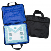 Quality Lightweight MM/WM Masonic Regalia Soft Case / Apron Holder Bag