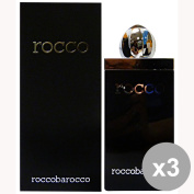 Set of 3 ROCCOBAROCCO ROCCO BLACK Shower Man 250 Ml. Soaps and cosmetics