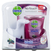 New Dettol Sagrotan No Touch Hand Wash System With Blackberry & Forest Fruits